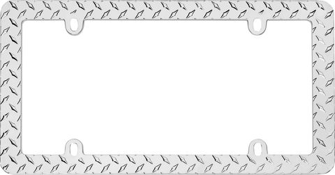 Diamond Plate; Chrome