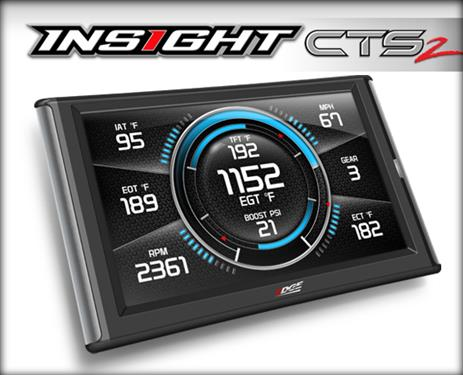 INSIGHT CTS2 PERFORMANCE GAUGEBLACK - Edge Products