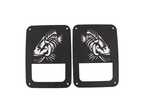 FISHBONE Tail Light Covers