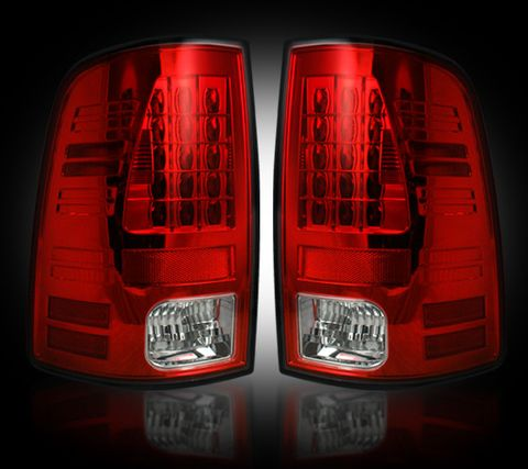 LED Tail Lights Red
