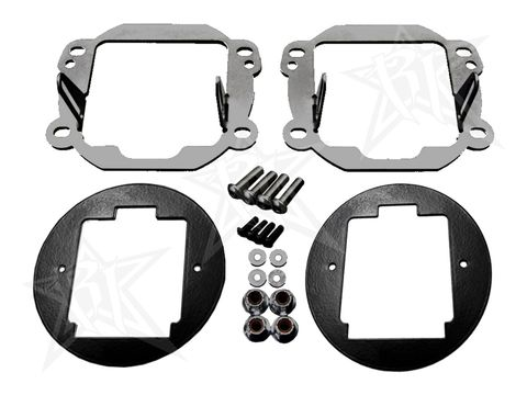 2007-2015 JK D-SERIES FOG MOUNT FITS D-SERIES