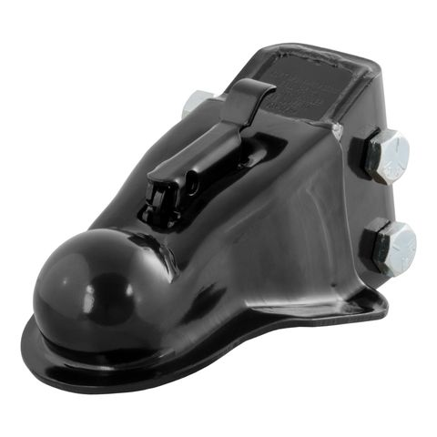 2-5/16in. Channel-Mount Coupler with Easy-Lock (14;000 lbs.; Black)