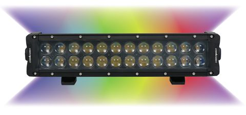 Enthuze 14 Multicolor LED Double Row Lamp