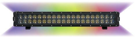 Enthuze 22 Multicolor LED Double Row Lamp
