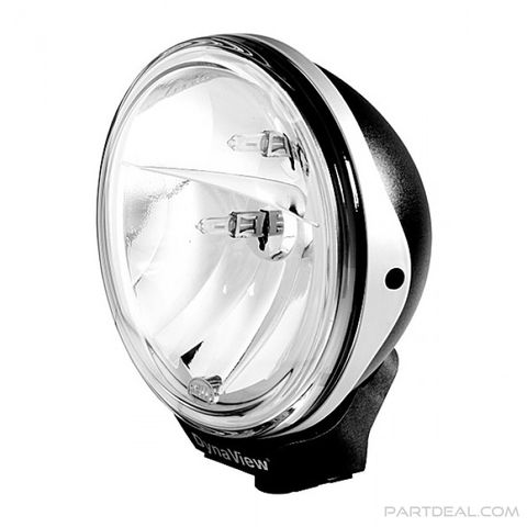 DynaView Halogen Bend Headlight System 12/24V with High Beam