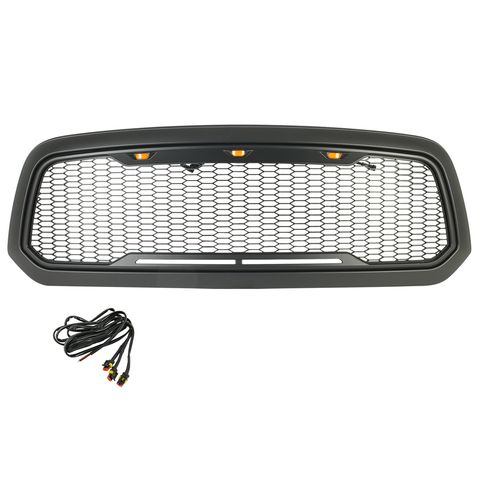 ABS LED Matte Black Impulse Packaged Grille