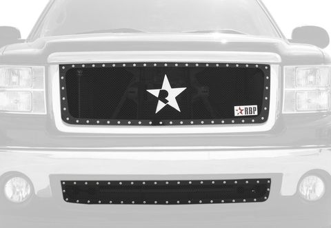 RX Series Black Studded Frame Main Grille