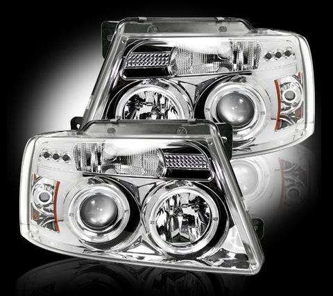 Projector Head Lights - Clear