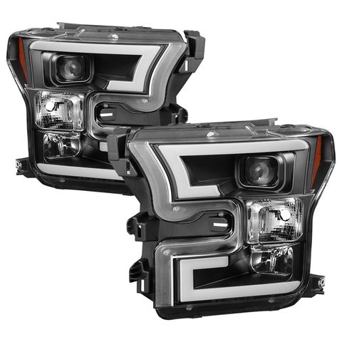DRL LED Projector Headlights