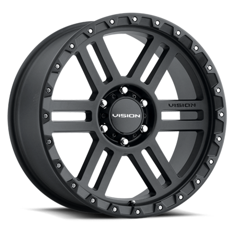 MANX2 17X9 5-5.5 (5-139.7) Satin Black -12