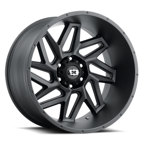 361 SPYDER SATIN BLACK; 20X12; 6x139.7