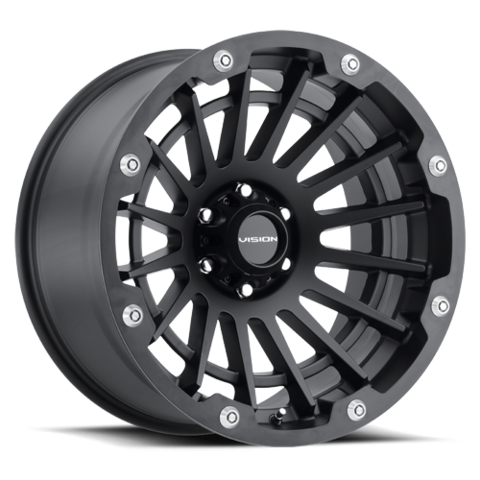 CREEP 17X9 6-5.5 (6-139.7) Satin Black 12