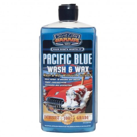Pacific Blue Wash & Wax