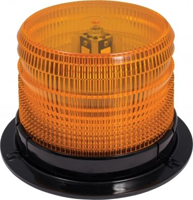 Amber LED Low Profile Permanent Mount Beacon