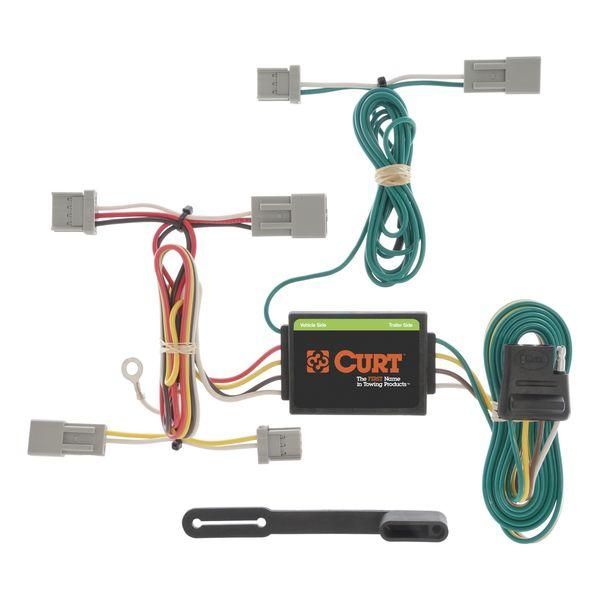 Custom Wiring Harness (4-Way Flat Output) | #CUR56011 | E ... on trailer plugs, trailer hitch harness, trailer mounting brackets, trailer generator, trailer fuses, trailer brakes,