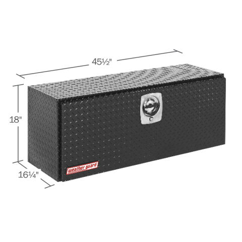 Model 347-5-02 Super Hi-Side Box, Aluminum, 11.8 cu ft