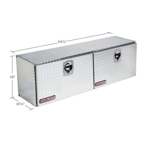 Model 365-0-02 Super Hi-Side Box, Aluminum, 10.8 cu ft