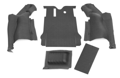 JEEP BEDTRED 07-10 JEEP JK 2DR REAR 5PC CARGO KIT (INC TLGTE & TUB LINER)