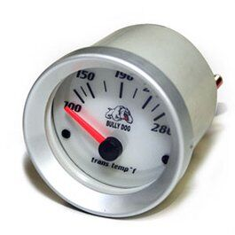 Transmission Temp Gauge - White