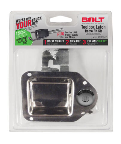 TOOLBOX LATCH GM CENTER CUT