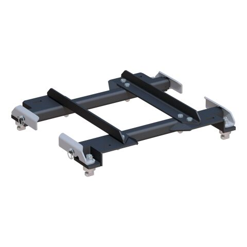 Puck System 5th Wheel Slider Adapter; 20K; Select Silverado; Sierra; 6.5ft. Bed