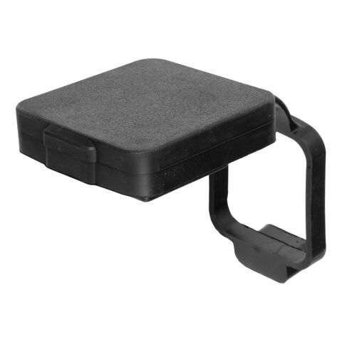 2in. Rubber Hitch Tube Cover with 4-Way Flat Holder (Packaged)