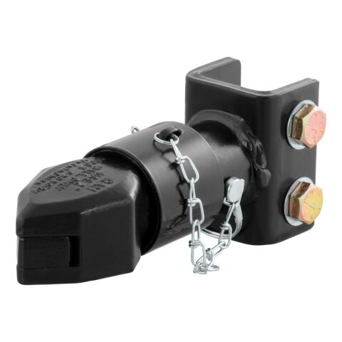 2in. Channel-Mount Coupler with Sleeve-Lock (7;000 lbs; Black)