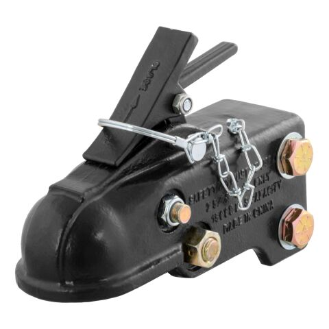 2-5/16in. Channel-Mount Coupler with Easy-Lock (15;000 lbs.; Black)