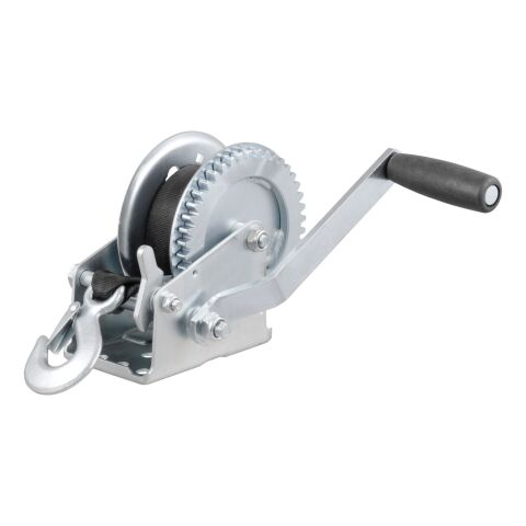 Hand Crank Win. with 20ft. Strap (1;400 lbs; 7-1/2in. Handle)