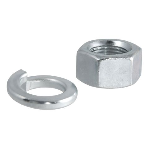 Replacement Trailer Ball Nut/Washer for 3/4in. Shank