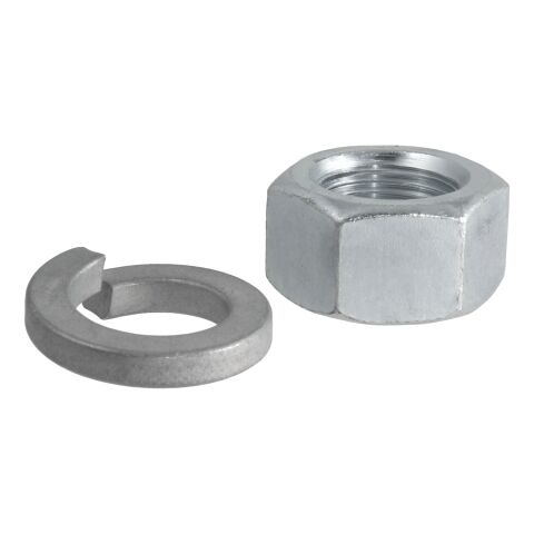 Replacement Trailer Ball Nut/Washer for 1in. Shank
