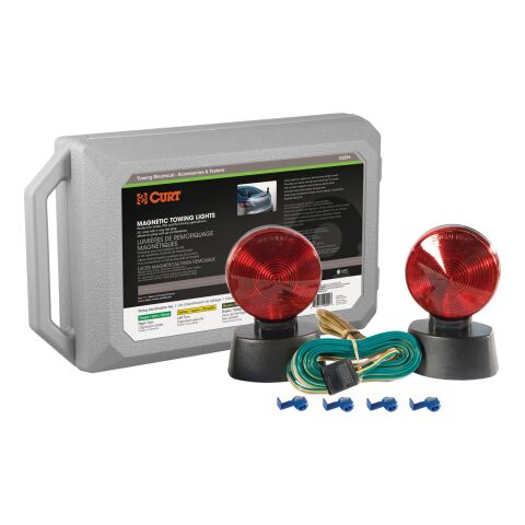 Magnetic Tow Lights with Storage Case