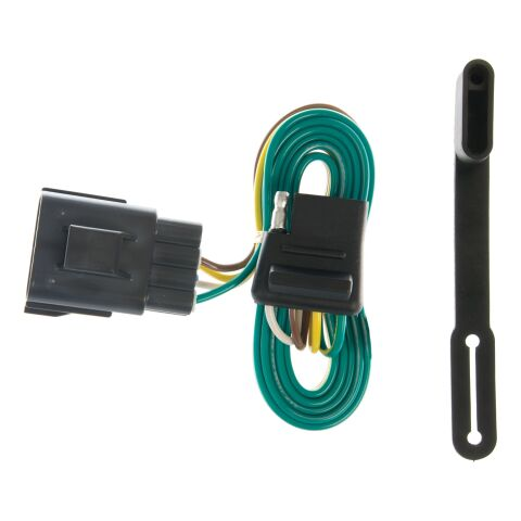 Custom Wiring Connector (4-Way Flat Output; OEM Tow Package Required)