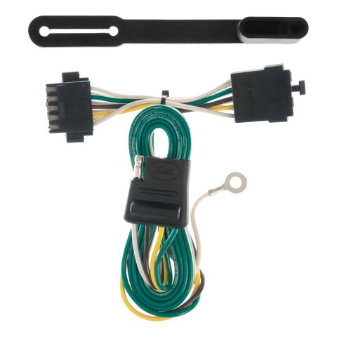 Custom Wiring; 4-Way Flat Output; Select Chevrolet S10 Blazer; GMC S15 Jimmy