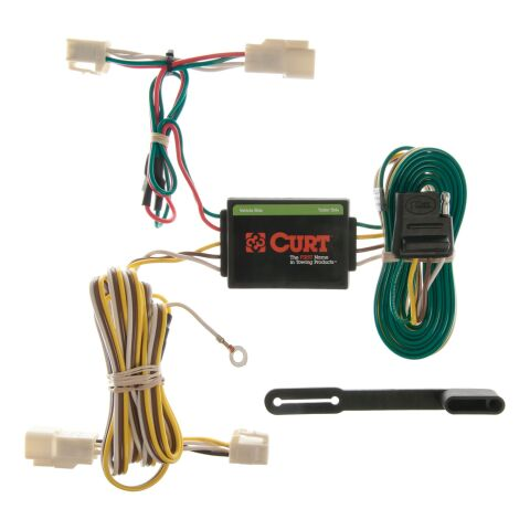 Custom Wiring Harness; 4-Way Flat Output; Select Toyota 4Runner