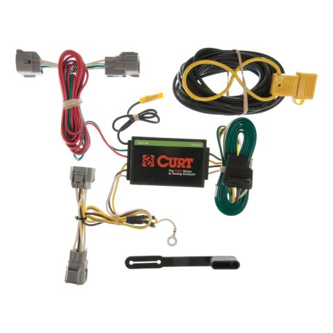 Custom Wiring Harness; 4-Way Flat Output; Select Jeep Grand Cherokee