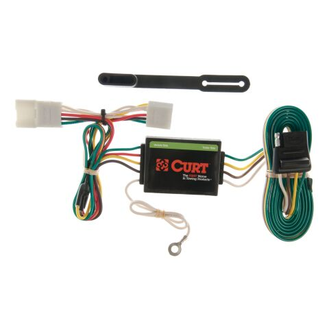 Custom Wiring Harness; 4-Way Flat Output; Select Jeep Cherokee; Including Sport