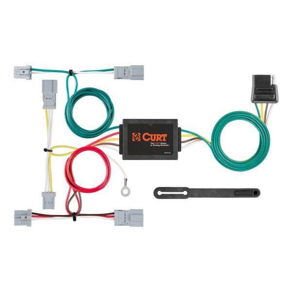 Custom Wiring; 4-Way Flat; Select Civic; Fit; Accord; Mazda 3; CX-5; Galant  | #CUR56011 | E-Custom Auto™E-Custom Auto