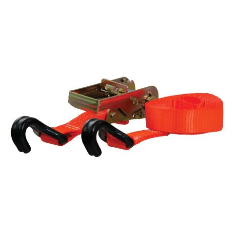 16ft. Orange Cargo Strap with J-Hooks (1;100 lbs.)