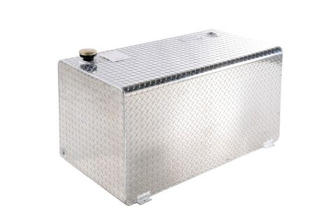 Tanks - Short Rectangle Brite-Tread Aluminum