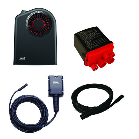WARMUP ASSEMBLY Bluetooth - Zero Idling Charging and Heating