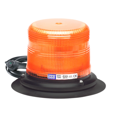 Vacuum Magnet Mount Amber Beacon Pulse II Series