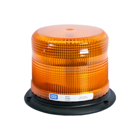 3-Bolt Amber Beacon Pulse II Series