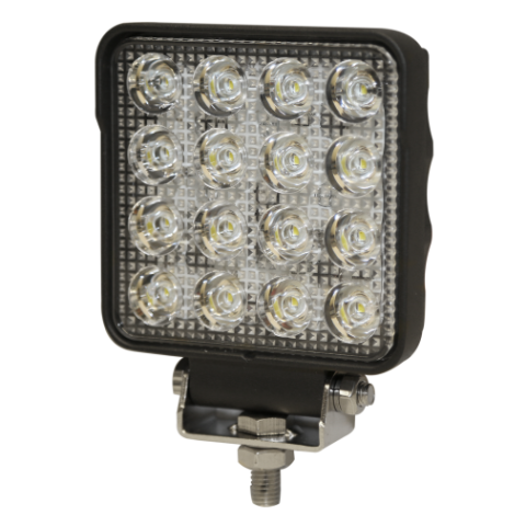 Worklamp: LED (16), Flood Beam, square