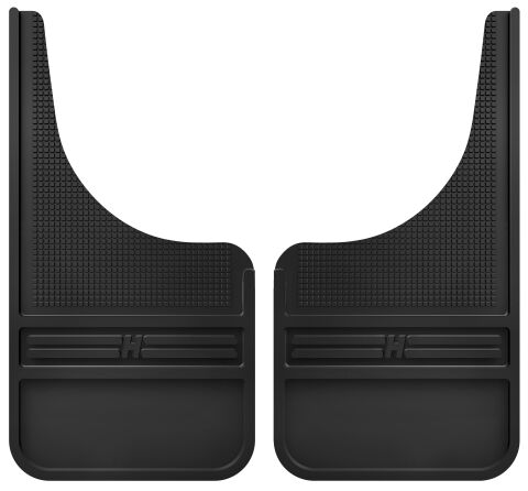 Rubber Front Mud Flaps - 12IN w/o Weight