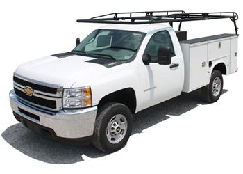 Ladder Rack Side Rail; Pro II Series; Requires Kargomaster Pro II Rack