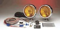 50 Series 5 Amber Chrome Fog Light - Set of 2