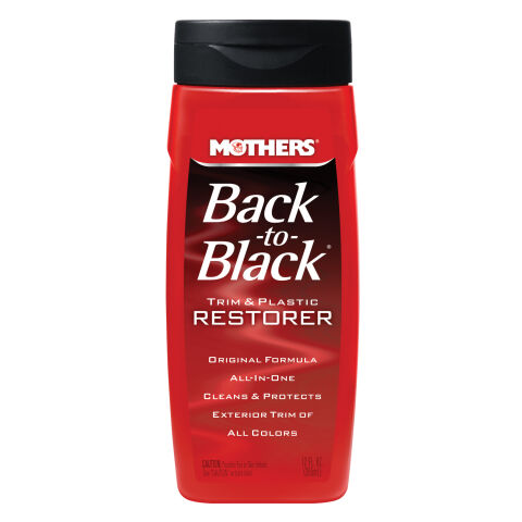 BACK TO BALCK TRIM & PLASTIC RESTORER