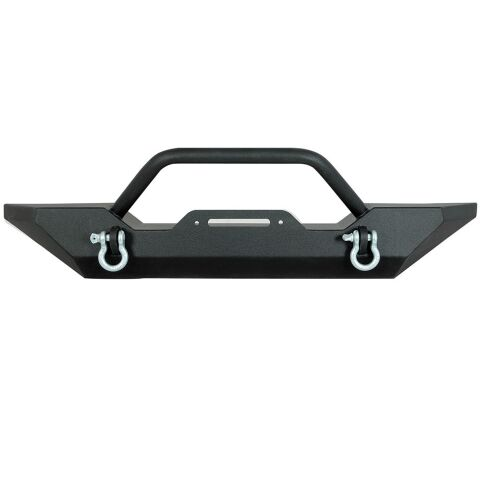 07-16 JEEP WRANGLER JK HEAVY DHEAVY DUTY ROCK CRAWLER FRONT BUMPER BLACK