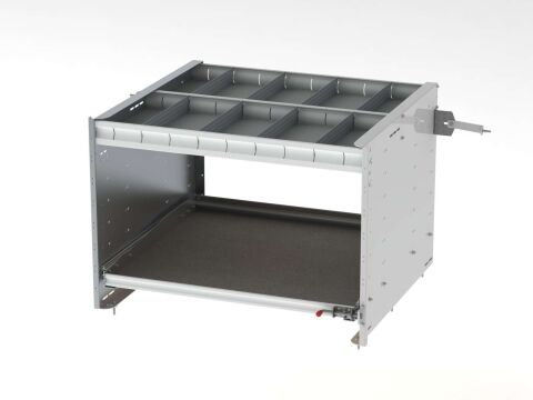 Axess Tray With 1 Shelf/1 Drawer